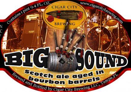 Cigar City Big Sound Scotch Ale Aged in Bourbon Barrels