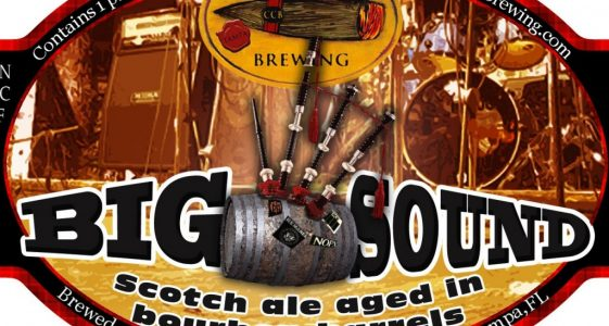 Cigar City Big Sound Scotch Ale Aged in Bourbon Barrels