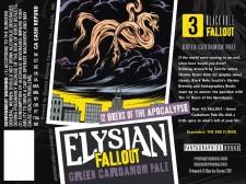 Elysian Fallout Green Cardamom Ale