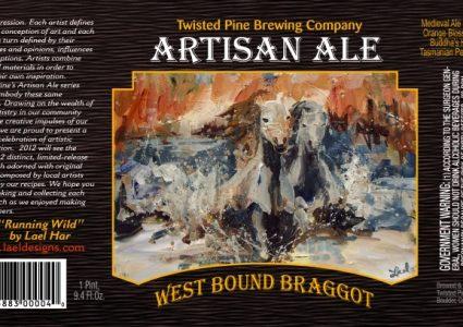 Twisted Pine West Bound Braggot