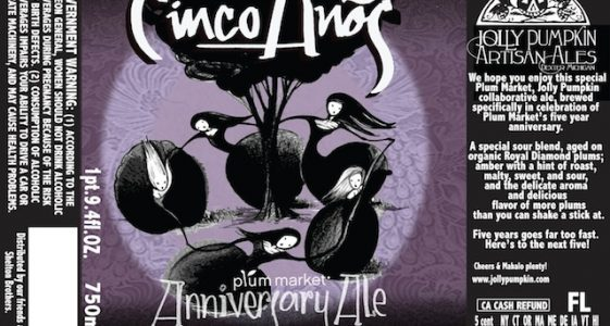 Jolly Pumpkin Cinco Anos