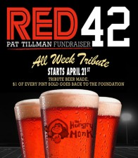 Hungry Monk - Red 42 Fundraiser