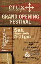Crux Fermentation Project Grand Opening