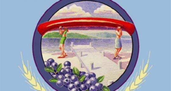 Sebago Bass Ackwards Berry Blue Ale