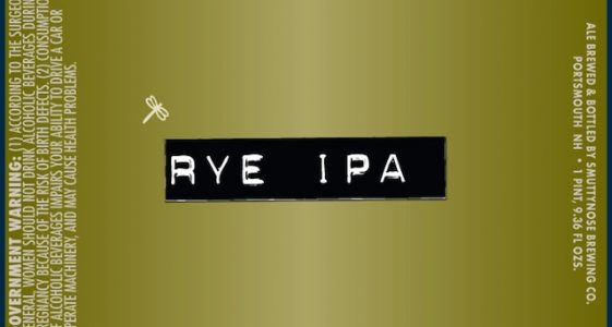 Smuttynose Rye IPA