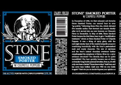 Stone Smoked Porter with Chipotle Peppers