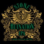 Stone Ruination Tenth Anniversary (front label)