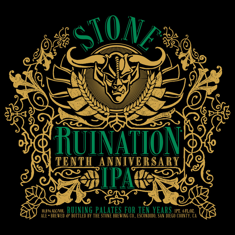 Stone Ruination Gets A 10th Birthday Present More Hops