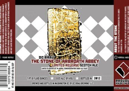 DC Brau The Stone of Abroath Abbey