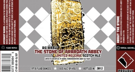 DC Brau The Stone of Abroath Abbey