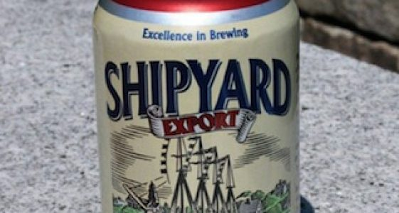 Export Can - Shipyard Brewing