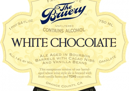 The Bruery White Chocolate