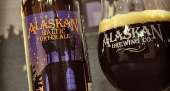 Alaskan Baltic Porter with Glass