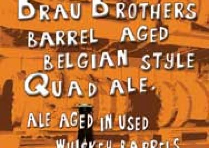 Brau Brothers Barrel Aged Belgian Style Quad