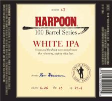 Harpoon 100 Barrel Series White IPA