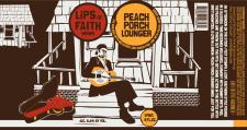 New Belgium Peach Porch Lounger