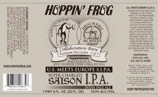 Hoppin Frog US Meats Europe Saison IPA
