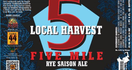 ipswich five mile rye saison