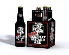 Stone Brewing Co. - Oaked Arrogant Bastard (4 pack)