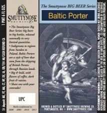Smuttynose Baltic Porter