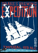 Drakes EXXPedition Imperial Red Ale