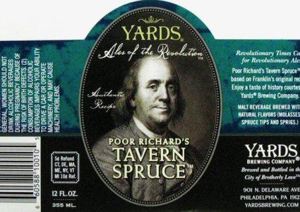 Yards Pour Richards Tavern Spruce