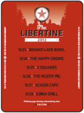 Fulton Beer - Libertine Tour 2012