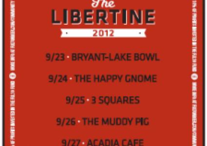 Fulton Beer - Libertine Tour 2012