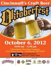 Cincinnati's Craft Beer Oktoberfest 2012