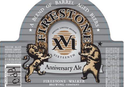 Firestone Walker XVI Anniversary Ale (Label)