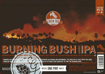Golden Road Burning Bush IPA