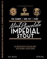 Ken Schmidt Iron Fist Stone Mint Chocolate Imperial Stout