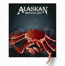 Alaskan Imperial Red Label Art