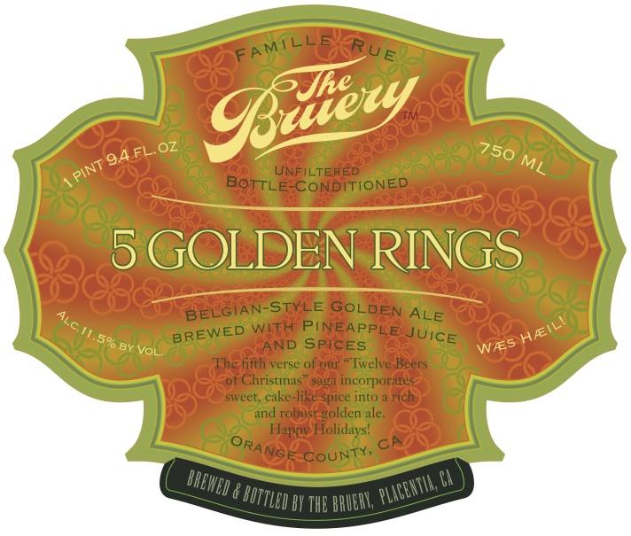 Bruery  Golden Rings