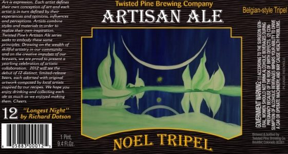 Twisted Pine Noel Tripel