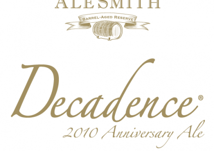 AleSmith Barrel Aged Decadence 2010 Label
