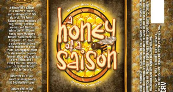 Boulder A Honey of a Saison