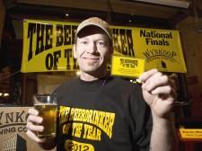 J Wilson 2012 Beer Drinker of The Year