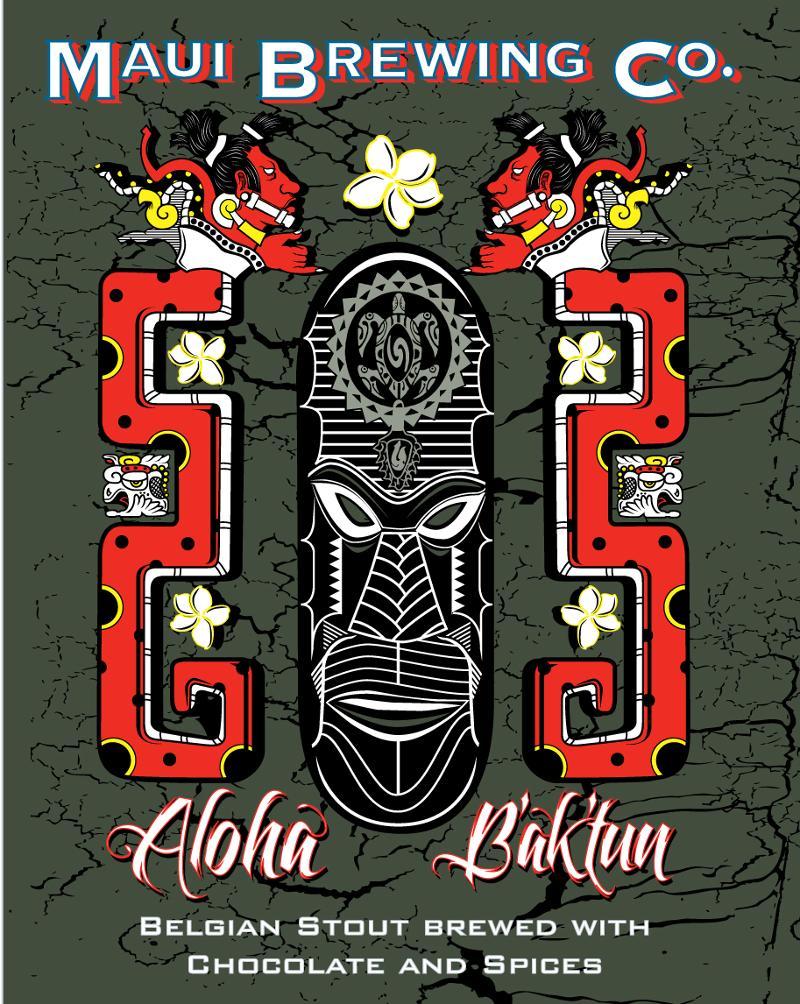 Maui Brewing Co. Releases Aloha B'ak'tun • thefullpint.com