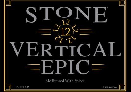 Stone 12.12.12 Vertical Epic Ale