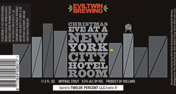 Evil Twin Christmas Eve at a New York City Hotel Room