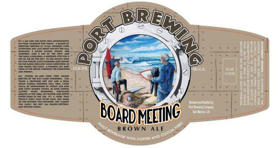 Port Brewing -Board Meeting Brown Ale