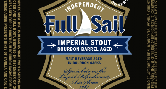 Full Sail Bourbon Barrel Aged Imperial Stout