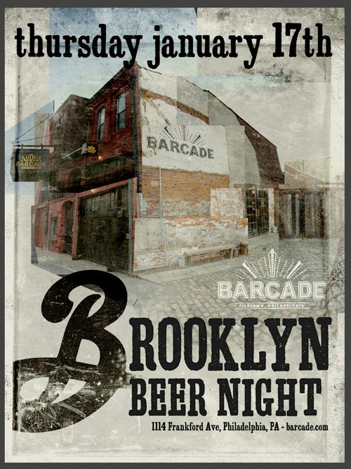 Brooklyn Brewery Night At Barcade