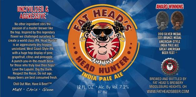 Fat Heads Head Hunter IPA
