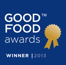 Good Food Awards 2013 Logo