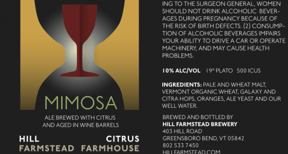 Hill Farmstead Mimosa