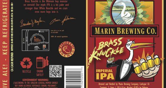 Marin Brass Knuckle IPA