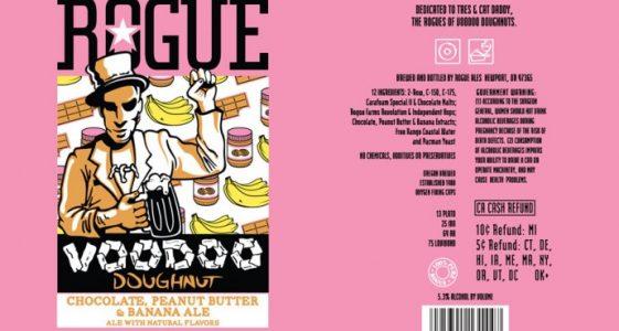 Rogue Voodoo Doughnut Chocolate Peanut Butter Banana Ale