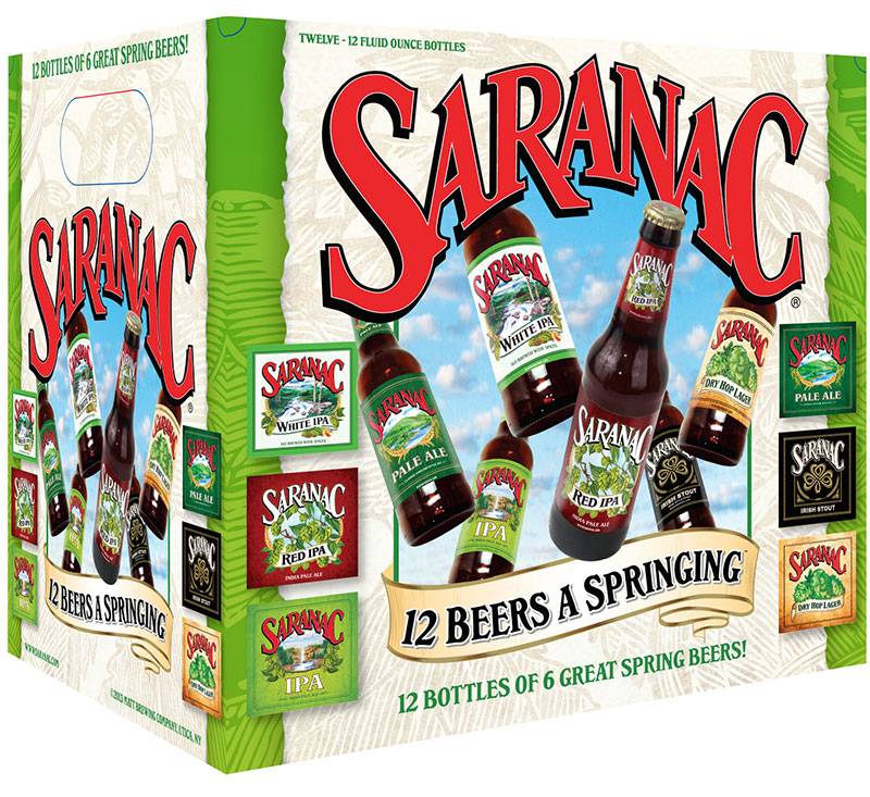 Saranac Brewing - 12 Beers A Singing